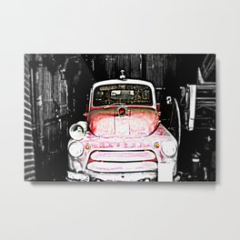 Dodge fire Truck Metal Print