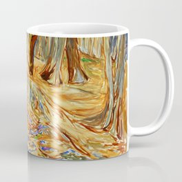 Edvard Munch - Elm Forest in Spring Coffee Mug