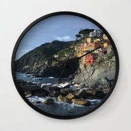 Cinque Terre II Wall Clock
