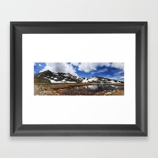 Mt. Evans, Colorado Framed Art Print