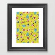 Circus Time Framed Art Print