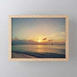 Fading Light Framed Mini Art Print