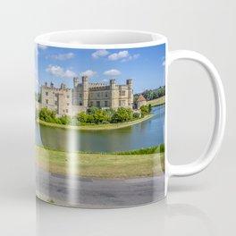 Leeds Castle Bench View 2 Coffee Mug