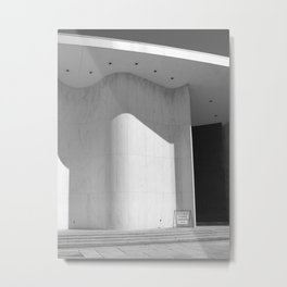 An Auditorium in Which I Saw My Friends As Actors Metal Print