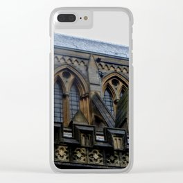 Truro Cathedral Clear iPhone Case