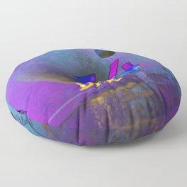 Space Ruin (DHR54) Floor Pillow