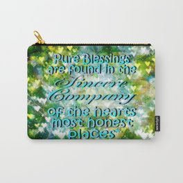 Pure Blessings Carry-All Pouch