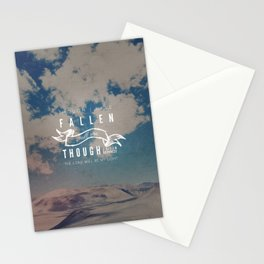I Will Rise - Micah 7:8 Stationery Cards