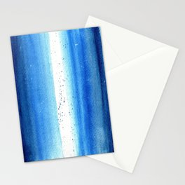 Blue Stars Stationery Cards