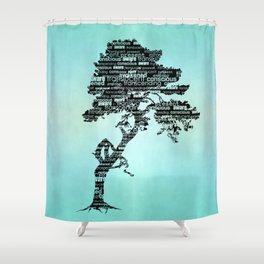 Bodhi Tree Shower Curtain