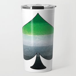 Aromantic Ace Travel Mug