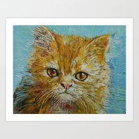 van gogh Art Prints featuring Van Gogh by Michael Creese