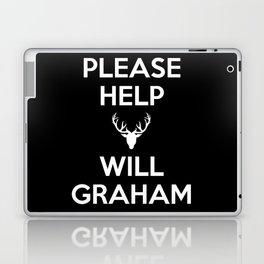 Please Help Will Graham Laptop & iPad Skin