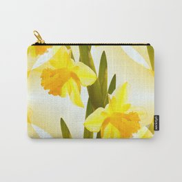Spring Yellow Flowers #decor #society6 #buyart Carry-All Pouch