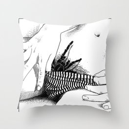 asc 472 - L'heure du repas (Feeding time) Throw Pillow