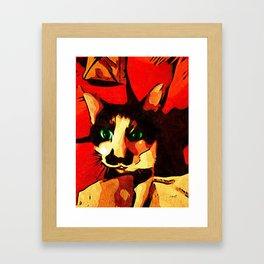 Mr. Wiggins Framed Art Print