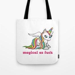 Magical as fuck Tote Bag