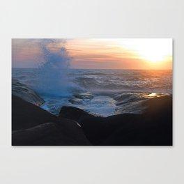 Splash!!! Canvas Print