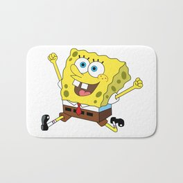 Spongebob Jump Bath Mat