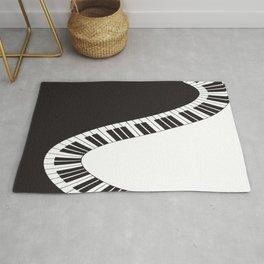 PIANO KEYS Pop Art Rug