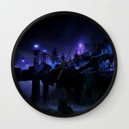 Fantasy Scene Wall Clock