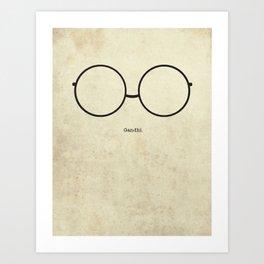 Gandhi Frames Art Print