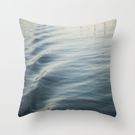 Water Ripple Throw Pillow