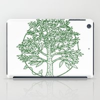coasters iPad Cases featuring Forest Lover's Tree by KimberlyVautrin