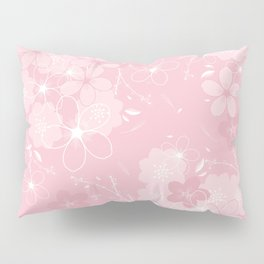 Pink Sakura Pillow Sham
