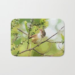 Fairy Wren Bath Mat