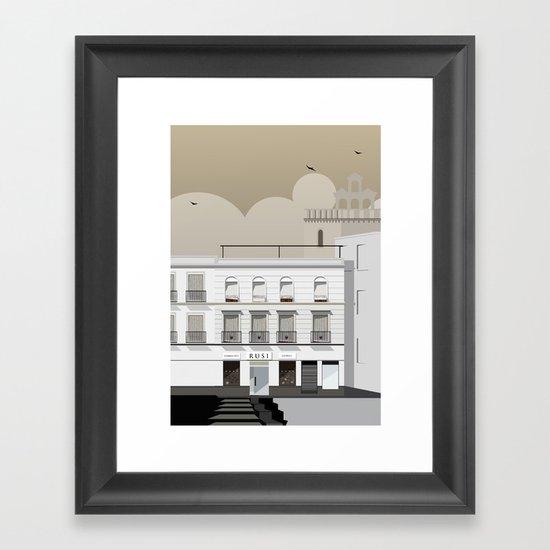 Buildings Framed Art Print