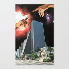 The Coming Of The Celestials Canvas Print