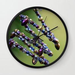 Spiral Beads Jewelry Like DNA Wall Clock