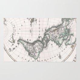 Vintage Western Hemisphere Map (1873) Rug