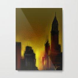 NYC Sunset Metal Print