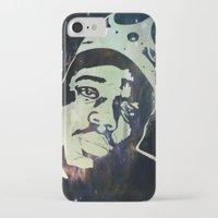 biggie smalls iPhone & iPod Cases featuring Biggie Smalls by Taylor Burleson