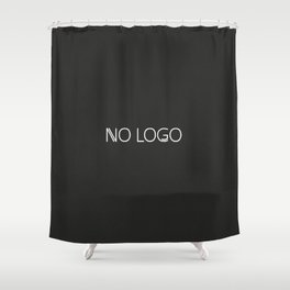 no logo Shower Curtain