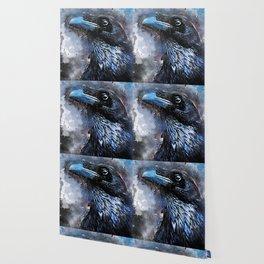 Crow art #crow #bird #animals Wallpaper