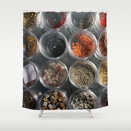 Beads Shower Curtain