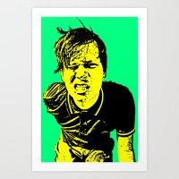 blink 182 Art Prints featuring Tom Delonge (Blink-182) by ACHE