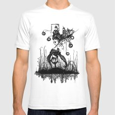 Swamp Lady Mens Fitted Tee White MEDIUM