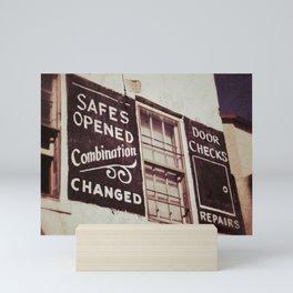 Locksmith Mini Art Print