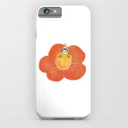 Milky in the Camellia iPhone Case