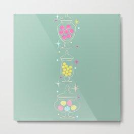 Candy Jar Metal Print