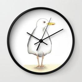 Seagull No. 1 // Die Möwe 1 Wall Clock