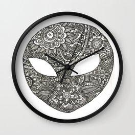 Alien Power Wall Clock