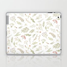 Watercolor Forest Botanicals Laptop & iPad Skin
