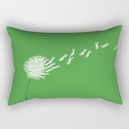 Escape from the dandeLION Rectangular Pillow