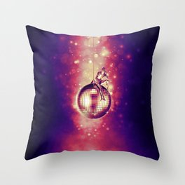 Tired of Disco Throw Pillow