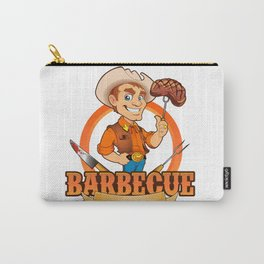 Cowboy Barbecue Chef  Carry-All Pouch